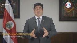 Costa Rica discurso presidente