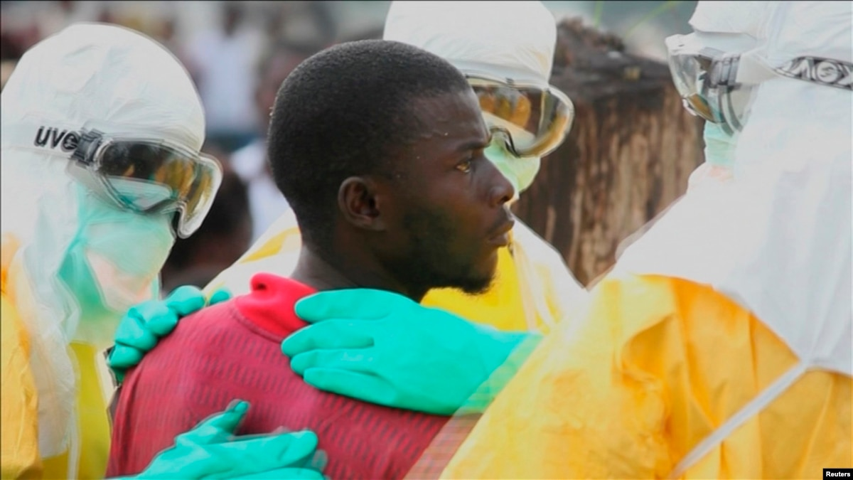 ebola in africa Fears of ebola spread as 1 american is dead and 2 american aid workers infected.
