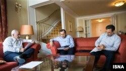 تصاویر خبرگزاریهای ایران از اتاق هیئت مذاکرهکننده ایرانی در هتل کوبورگ