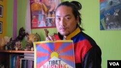 Nghệ sĩ Tây Tạng Tamding Tsetan.