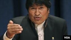 Reiteradamente, Evo Morales ha calificado de enemiga a la prensa privada.