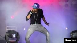 Le musicien nigérian Wizkid donne un spectacle lors du MTV Africa à Lagos, le 5 août 2011.