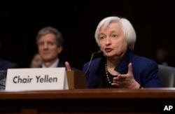 Janet Yellen, presidenta de la Reserva Federal terminará su mandato el sábado 3 de febrero de 2018.