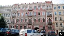 美国驻圣彼得堡领事馆外景。