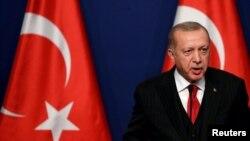 SYRIA-SECURITY/TURKEY Erdogan