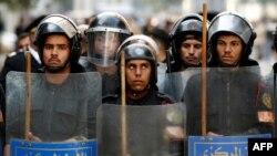 Cảnh sát chống bạo động Ai Cập tại Cairo