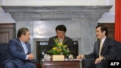 马英九总统会见日本策略大师大前研一博士