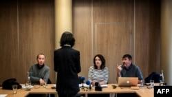 گریس منگ به خبرنگاران گفته حاضر نیست تصویری از چهره او منتشر شود