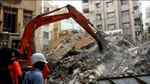 کراچی: پانچ منزلہ عمارت زمین بوس، 288 خطرناک قرار