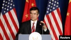 美國駐中國大使駱家輝。 (資料圖片)