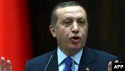 Firaministan kasar Turkiyya Recep Tayyip Erdogan