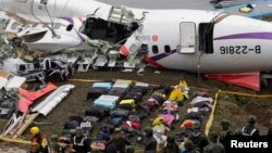台灣空難事故目前仍在調查之中。(資料圖片)