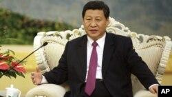 건강 이상설이 제기된 시진핑 중국 국가부주석.