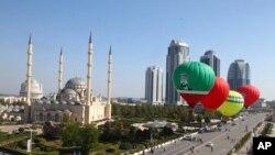 Ibukota Chechnya, Gronzy