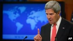 Kerry pidió al Consejo de Seguridad de la ONU dialogar sobre las acciones a tomar contra el gobierno de Bashar Al Assad.
