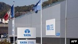 Một nhà máy của công ty đa quốc Tata Steel của Ấn Ðộ trong thị trấn Hayange ở đông bắc nước Pháp khánh thành hôm 29/9/11