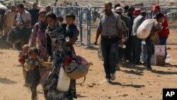 Jiber şerê berdewam li Sûrîyê bi mîlyonan kes bûn penaber
