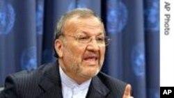 ایرانی وزیر خارجہ منوچہر متکی