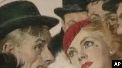 画家诺曼.罗克维尔的作品