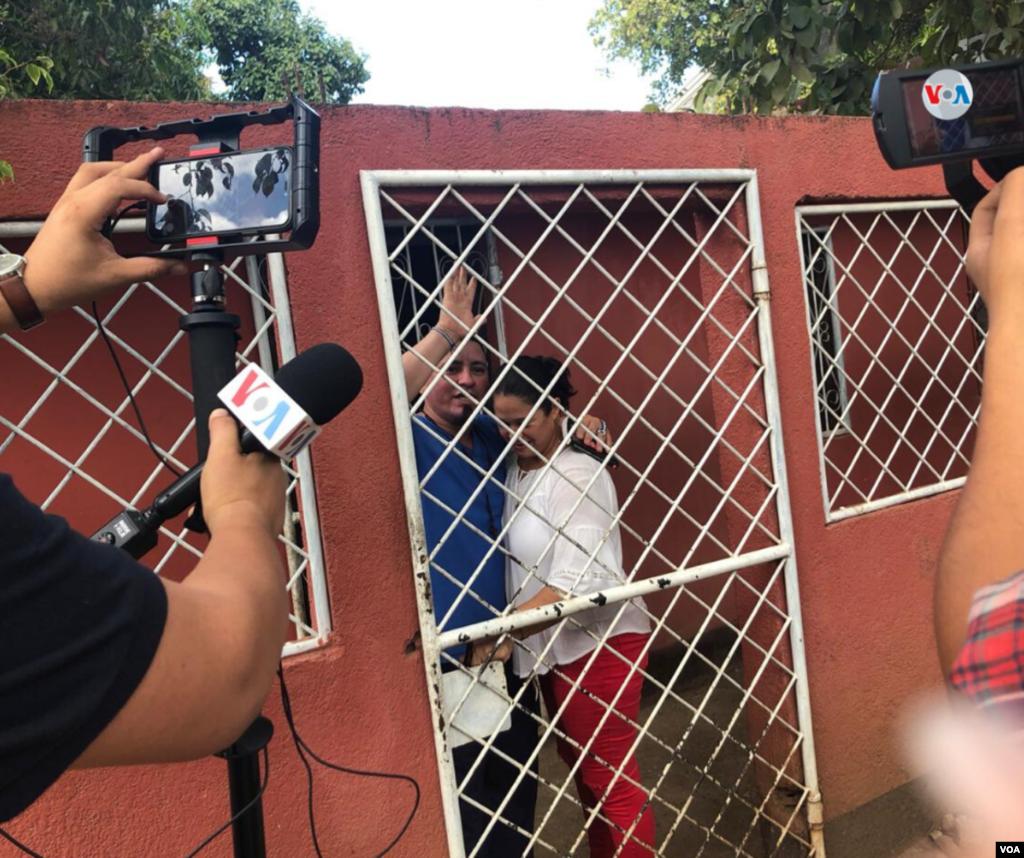 Pedro José Gutiérrez, uno de los presos políticos con más tiempo en prisión en Nicaragua. (Foto de Daliana Ocña, VOA)