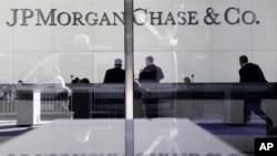 Oficinas centrales de JP Morgan, en Nueva York. El banco es uno de los afectdos por la Regla Volcker.