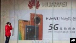 Huawei está en el centro de las tensiones con Washington por las ambiciones tecnológicas de China.