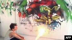 Punimet grafite zhvendosen nga rrugët në galeritë e Los Anxhelosit