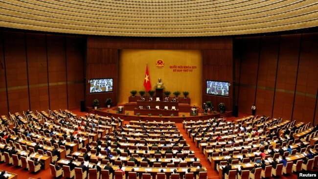 Họp Quốc Hội tại Việt Nam.