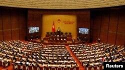 Một phiên họp của Quốc hội Việt Nam.