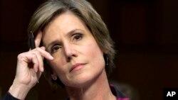 La subsecretaria de Justicia, Sally Yates, está en el primer grupo de funcionarios que recibirá entrenamiento sobre parcialidad incosciente.