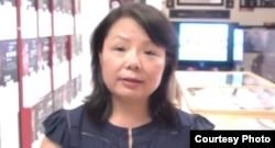 中国妇权创办人张菁 ( 博訊提供)