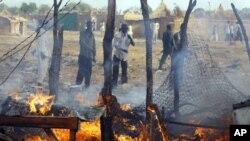 南蘇丹一個市場4月23號被蘇丹飛機炸毀