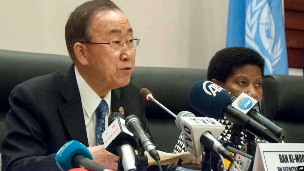 UN Chief: Mugabe African Leaders' AU Chair Choice