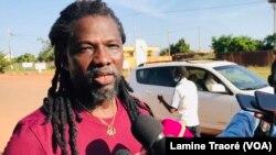 Sam's K Le Jah, militant de la société civile, Ouagadougou, le 11 octobre 2021