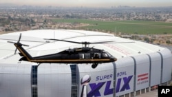 This year the Super Bowl will be played in Glendale, Arizona.