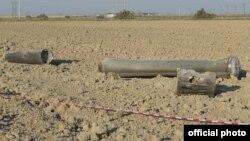 Xızı rayonuna atılmış raket mərmisi