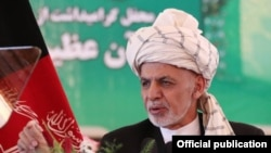 افغان صدر اشرف غنی (فائل)