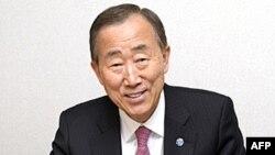 Tổng Thư Ký Liên Hiệp Quốc Ban Ki-moon nói ông hân hạnh đệ đơn tái ứng cử