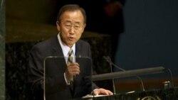 بان کی مون: کشورها به وعده ده سال پیش خود عمل کنند