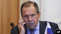 Министр иностранных дел России Сергей Лавров (архивное фото)