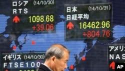 日本东京股市。