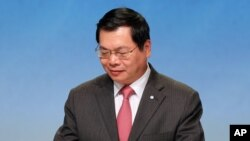 Tư liệu- Ông Vũ Huy Hoàng, nguyên Bộ trưởng Bộ Công thương.