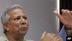 بنگلہ دیش: محمد یونس پر بینک قوانین کی بے ضابطگیوں کاالزام