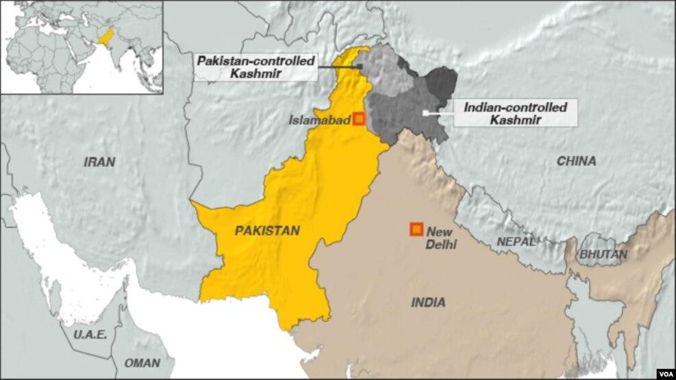 Paquistão propõe à Índia negociações sobre Caxemira