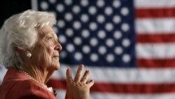 ကြယ္လြန္သူ သမၼတကေတာ္ေဟာင္း Barbara Bush အမွတ္တရ