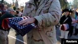 Церемонія відзначення Дня ветеранів у Конкорді, штат Масачусетс, США