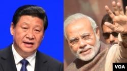 习近平和印度新任总理莫迪