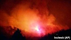 Лісова пожежа в Дуранго, Колорадо. 7 червня 2018 року.