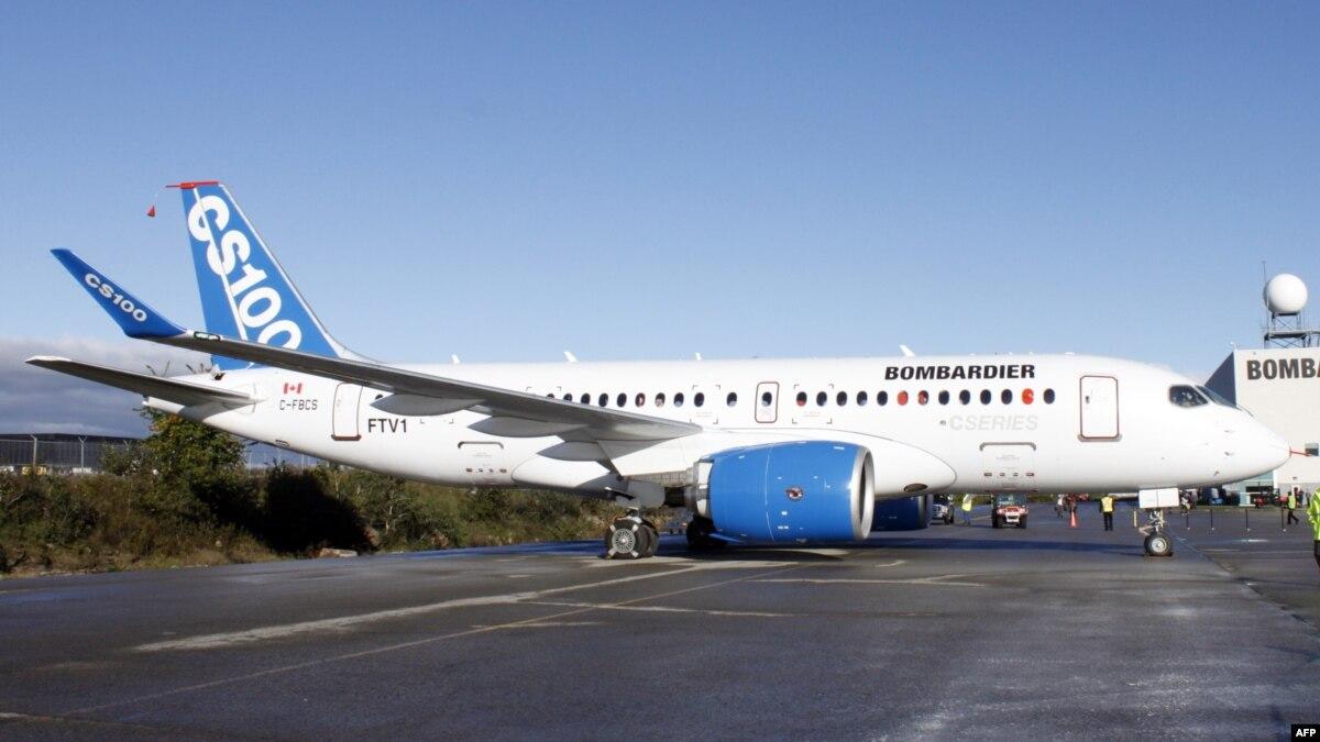 US Trade Body Backs Canadian Plane Maker Bombardier Against Boeing