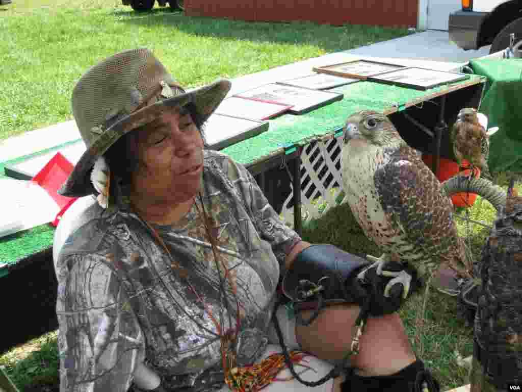 Праздник пау-вау на Кейп-Коде. Машпи, штат Массачусетс. Фото Олега Сулькина